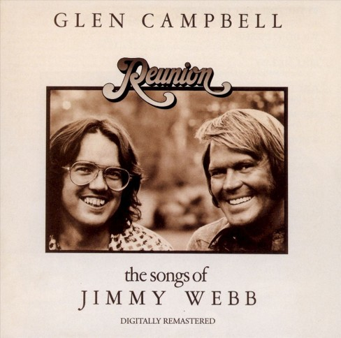 Glen campbell - Reunion-songs of jimmy webb (CD) - image 1 of 1