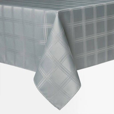"""84"""" x 60"""" Element Tablecloth Gray - Town & County Living"""