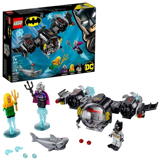 LEGO Super Heroes Batman Batsub and the Underwater Clash 76116 image number null