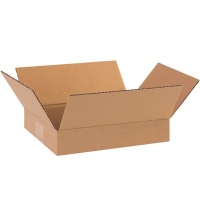 17L x 11W x 8H Kraft Pack of 25 Partners Brand P17118R Corrugated Boxes