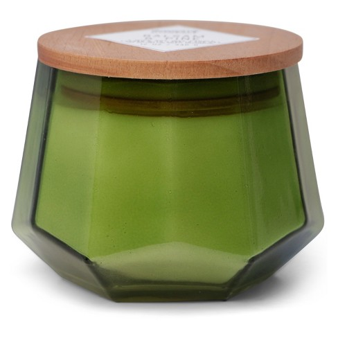 12oz Dodeca Glass Jar 3-Wick Candle Balsam & Pine - Vineyard Hill Naturals By Paddywax - image 1 of 2
