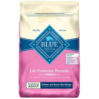 Blue Buffalo Life Protection Chicken & Brown Rice Recipe Small Breed Adult Dry Dog Food