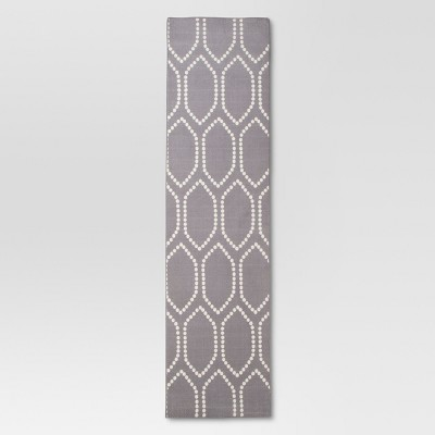 Gray Dot Tile Runner (1'10 X7')- Threshold™