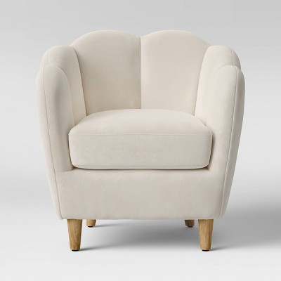 Waterville Upholstered Accent Chair Cream - Opalhouse™
