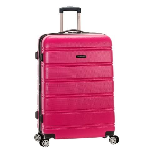 "Rockland Melbourne 28"" Expandable Hardside Spinner Suitcase - Magenta - image 1 of 5"