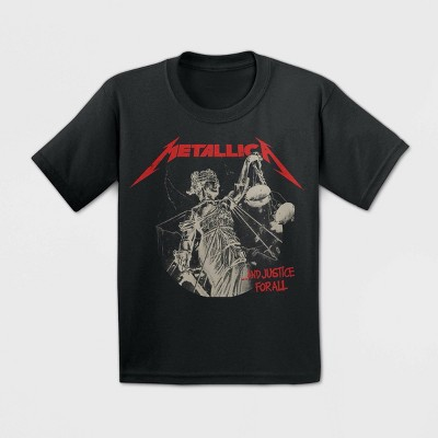 Toddler Boys' Metallica Short Sleeve T-Shirt - Black