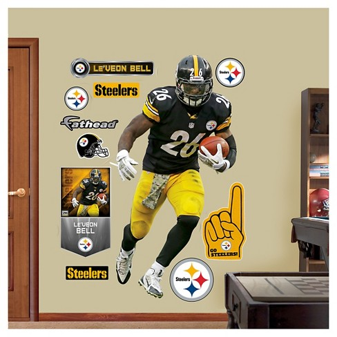"Pittsburgh Steelers Fathead® Decorative Wall Art Set - 52""x4""x4"" - image 1 of 1"