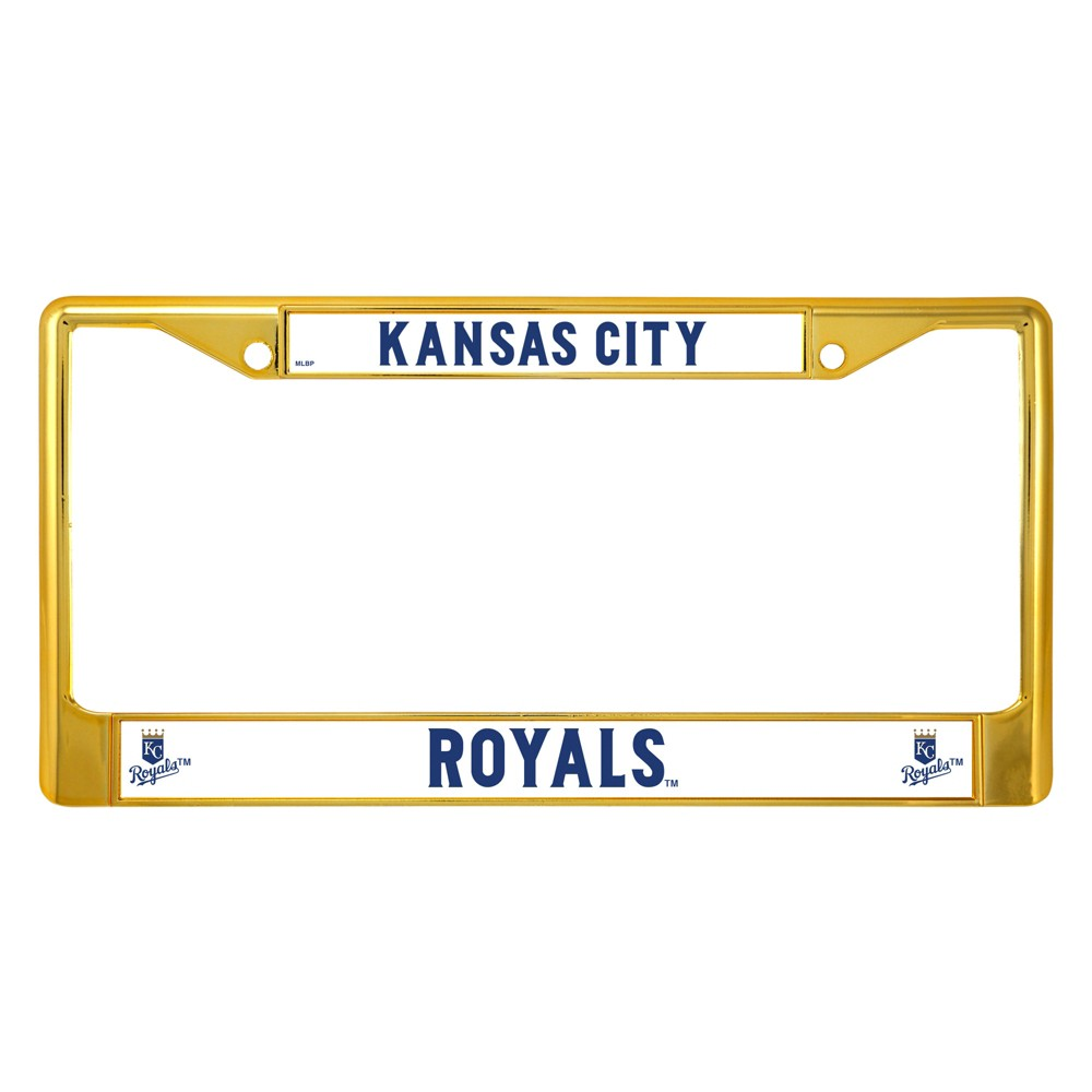 MLB Kansas City Royals License Plate Frame