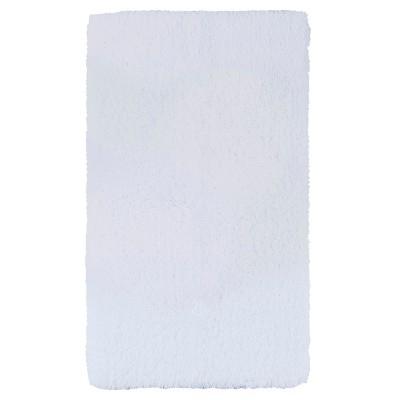 Luxury Solid Bath Rug (20 X34 )White - Fieldcrest®