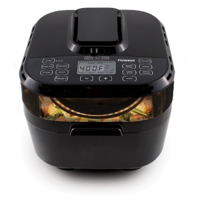 NuWave 1500W 10qt Digital Air Fryer Black