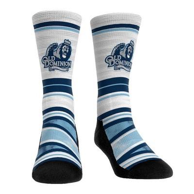 NCAA Old Dominion Monarchs Adult Long Distance Crew Socks - L/XL