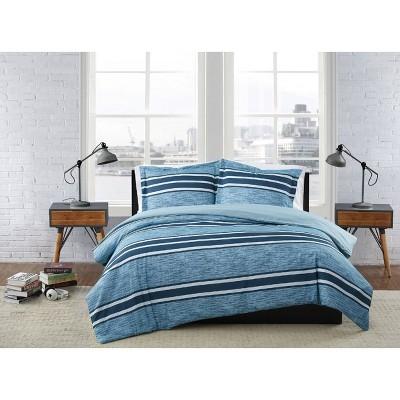London Fog Mitchell Stripe Comforter Set