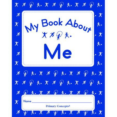 Primary Concepts My Book About Me Book, Grades K - 1, pk of 20