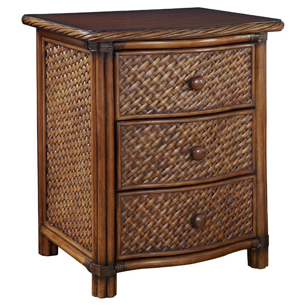 Marco Island Night Stand - Home Styles, Brown