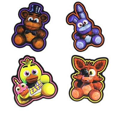 Just Funky Five Nights At Freddy's Character Magnets, Set of 4