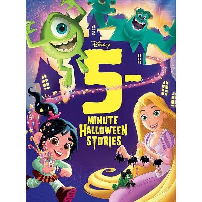 5-Minute Halloween Stories (Board Book) - by Disney