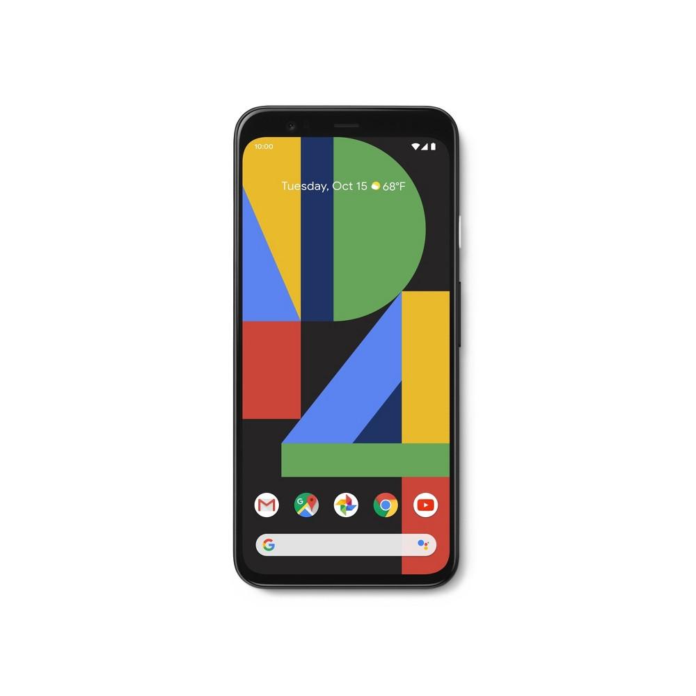 AT&T Google Pixel 4 (64GB) - Just Black