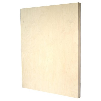 American Easel Primed Wood Painting Panel, Clear Gesso