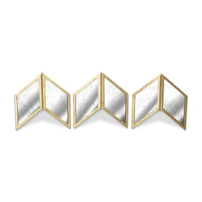 Glass Chevrons Set of 3 - Threshold™