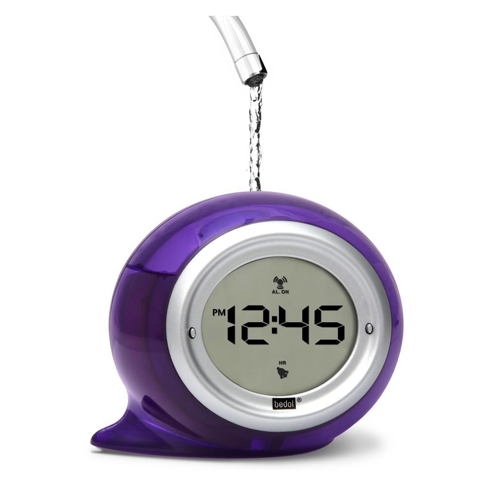 Decorative Water Clock Squirt Purple - Bedol