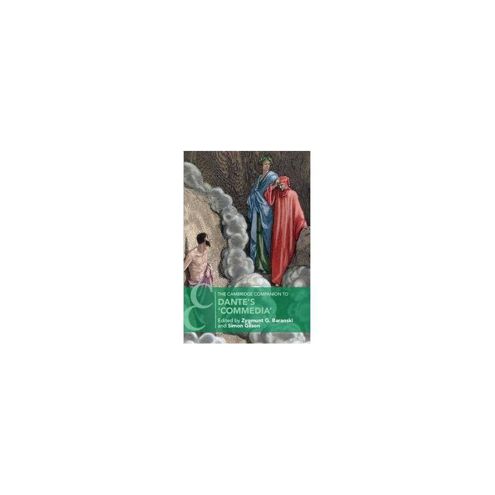 Cambridge Companion to Dante's Commedia - (Paperback)
