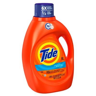 Tide® Clean Breeze High Efficiency Liquid Laundry Detergent - 100 fl oz