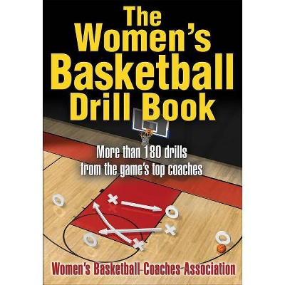 The Women's Basketball Drill Book - by  Women's Basketball Coaches Association (Paperback)