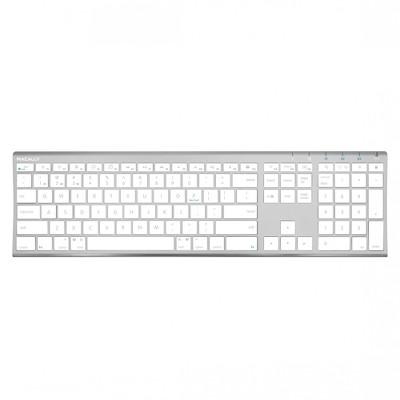 Macally Wireless Bluetooth Rechargeable 110 Keys Full Keyboard