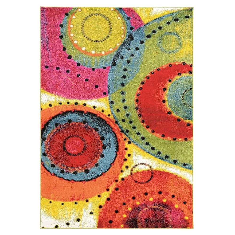 Masters MR09 Tango Area Rug (8' X 10'3), Multicolored