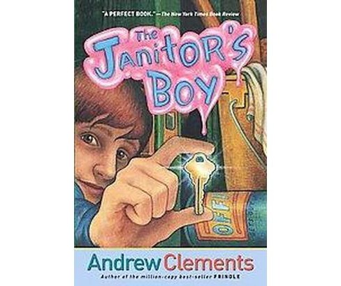 Janitor's Boy -  Reprint by Andrew Clements (Paperback) - image 1 of 1