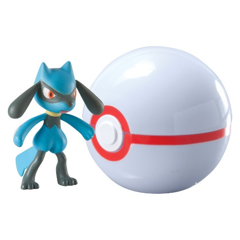 Pokmon Clip 'n' Carry Pok Ball, Riolu and Premier Ball - image 1 of 1