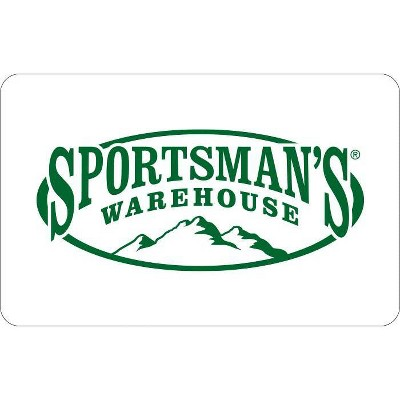 Sportsman's Warehouse Gift Card $50 (Email Delivery)