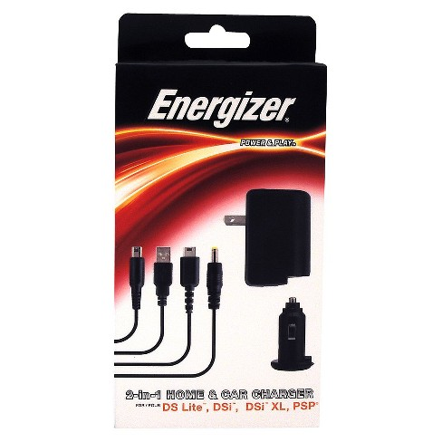 PDP Universal Energizer 2 In 1Home Car Charger For DS Target