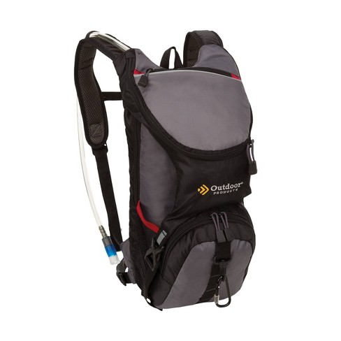 Outdoor Products Ripcord Hydration Pack - Graphite - image 1 of 4