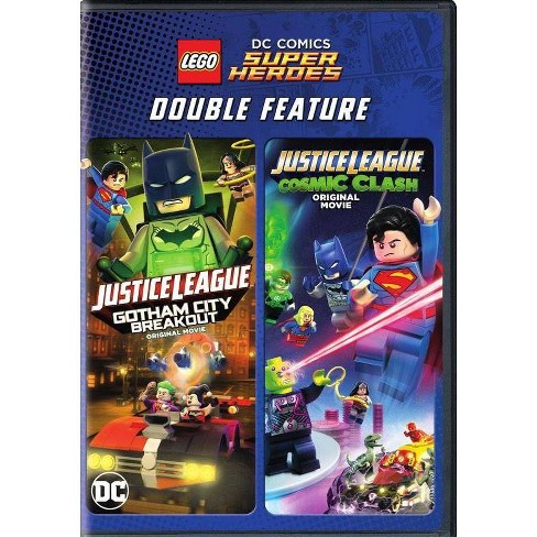 Lego DC Super Heroes: Justice League - Gotham City Breakout / Cosmic Clash (DVD) - image 1 of 1