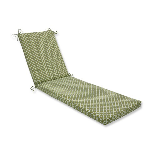 Indoor/Outdoor Hockley Pear Green Chaise Lounge Cushion - Pillow Perfect - image 1 of 1