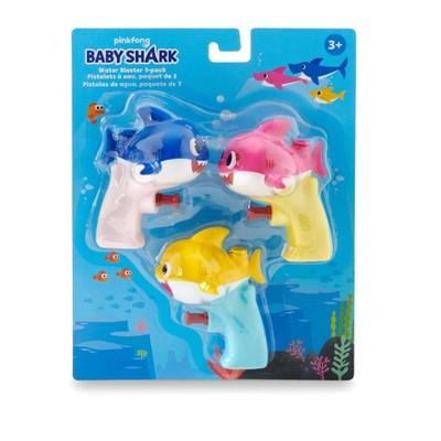 Baby Shark Water Blaster - 3pk
