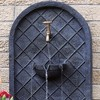 """26"""" Messina Outdoor Wall Water Fountain with Electric Submersible Pump - Lead - Sunnydaze Decor - image 2 of 4"""