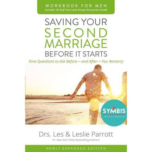 Saving Your Second Marriage Before It Starts Workbook for Men Updated - by  Les And Leslie Parrott (Paperback) - image 1 of 1