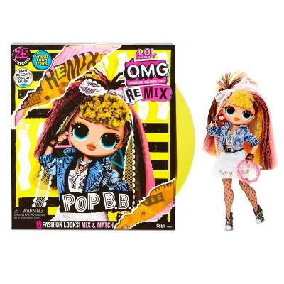 L.O.L. Surprise! O.M.G. Remix Pop B.B. Fashion Doll – 25 Surprises with Music
