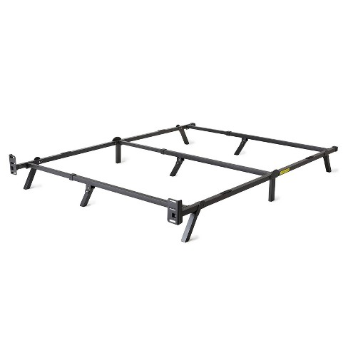 intelliBASE Low Profile Adjustable Twin Full Queen Box Spring Metal Bed Frame - image 1 of 4