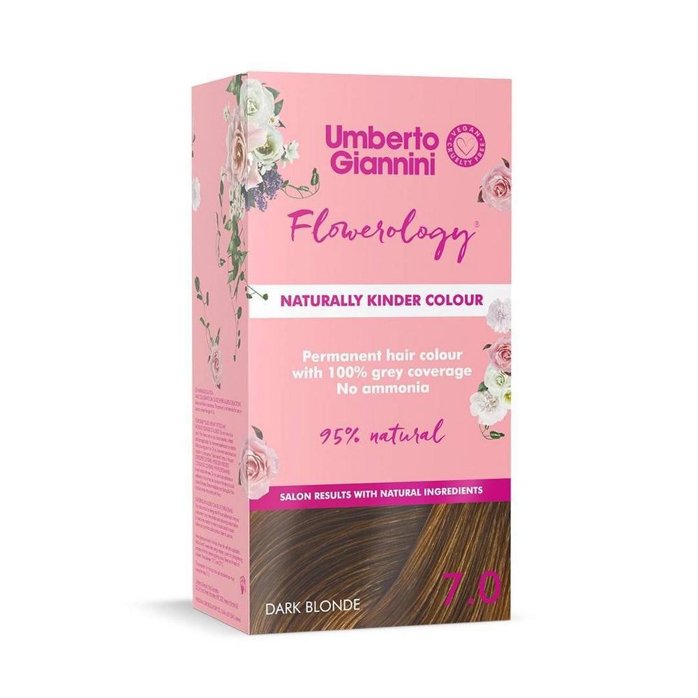 Umberto Giannini Flowerology Vegan Color Dark Blonde 3 75 Fl Oz