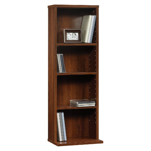 Beginnings Multimedia 3 Shelf Storage Tower - Brook Cherry - Sauder - image 1 of 1