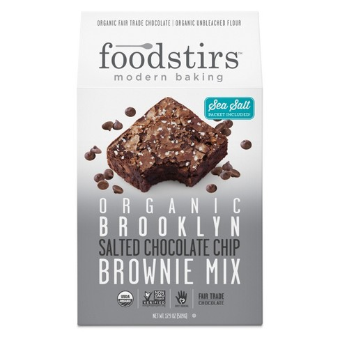 Foodstirs Brooklyn Salted Chocolate Chip Brownie Mix - 17.9oz - image 1 of 1