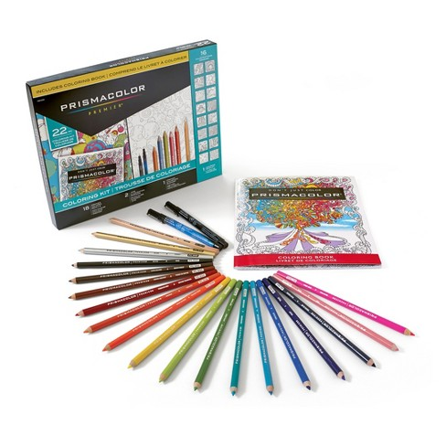 Prismacolor Premier Coloring Book Kit 22pc - image 1 of 7