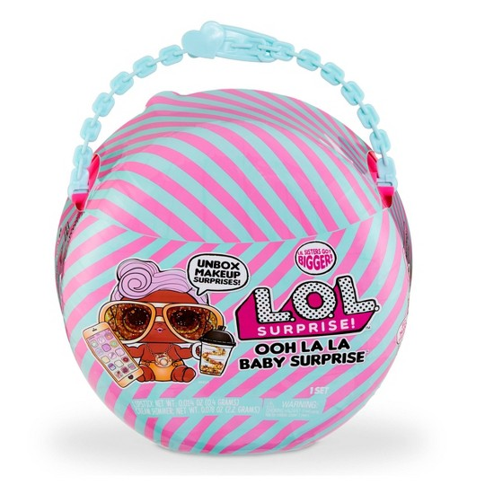 L.O.L. Surprise! Ooh La La Baby Surprise Lil D.J. with Purse & Makeup Surprises image number null