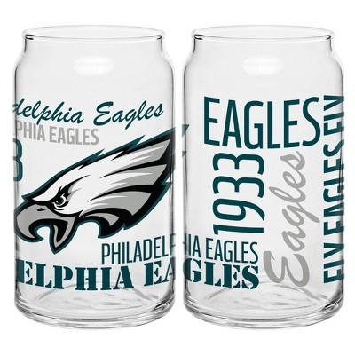 Philadelphia Eagles 2pk Spirit Can Glasses