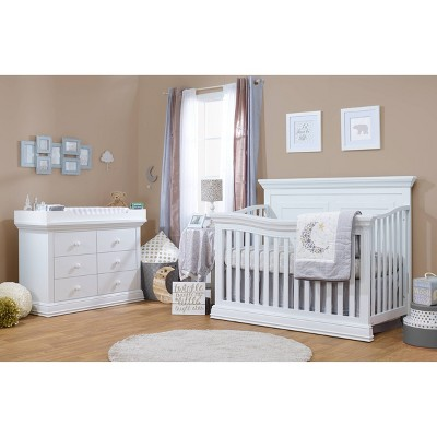 Sorelle Paxton 4-in-1 Standard Full-Sized Crib White