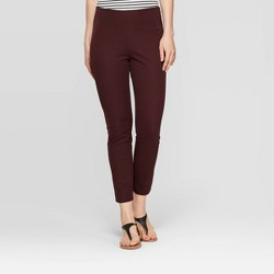 Women's Regular Fit High-Rise Skinny Ankle Pants - A New Day™