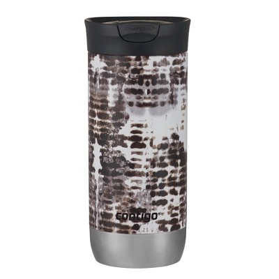 Contigo 16oz Couture SnapSeal Insulated Stainless Steel Travel Mug Snakeskin
